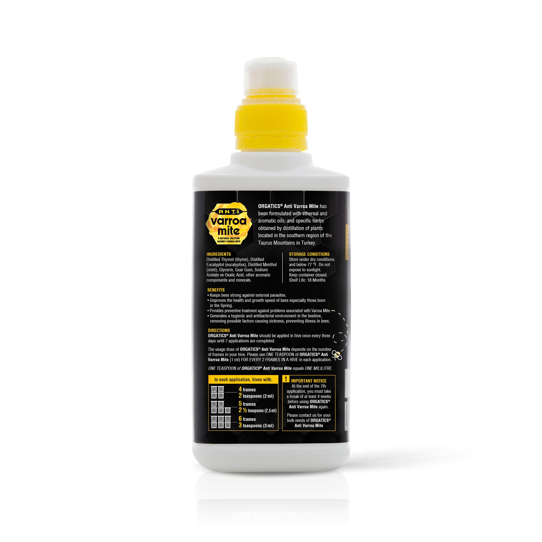 ORGATICS Anti Varroa Mite - 250 ml (Back)
